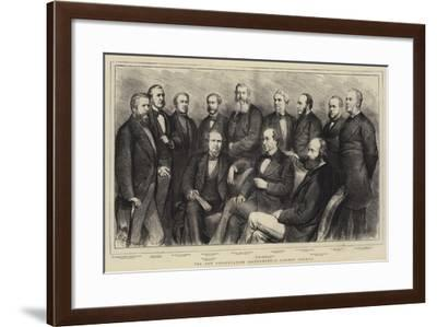 The New Conservative Government, a Cabinet Council-Godefroy Durand-Framed Giclee Print