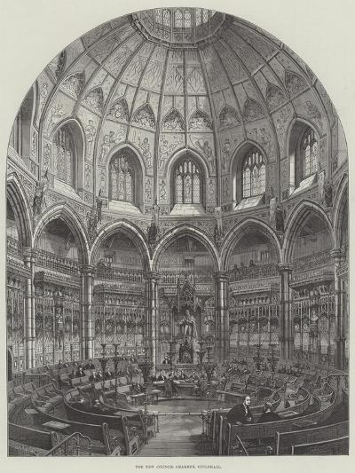 The New Council Chamber, Guildhall-Frank Watkins-Giclee Print