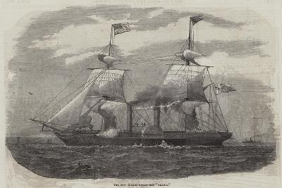 The New Cunard Steam-Ship Arabia--Giclee Print
