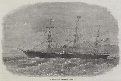 The New Cunard Steam-Ship China--Giclee Print