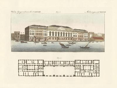 The New Customs House in London--Giclee Print