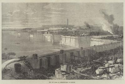 The New Docks and Repairing-Basin at Chatham--Giclee Print