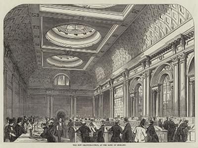 The New Drawing-Office, at the Bank of England--Giclee Print