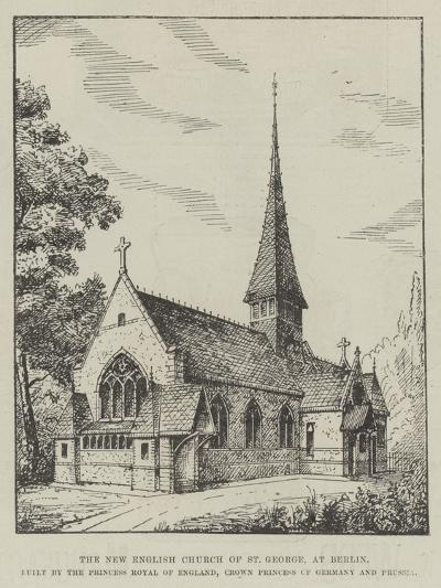 The New English Church of St George--Giclee Print