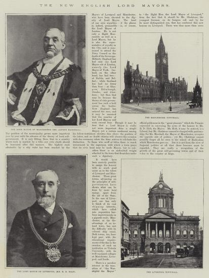 The New English Lord Mayors--Giclee Print