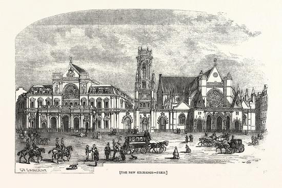 The New Exchange, Paris--Giclee Print
