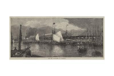 The New Fish-Market at Yarmouth--Giclee Print