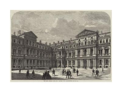 The New Foreign and India Offices, the Quadrangle--Giclee Print