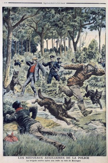 The New French Police Auxiliaries, 1907--Giclee Print