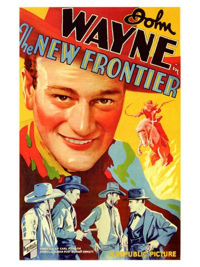 The New Frontier, 1935--Art Print