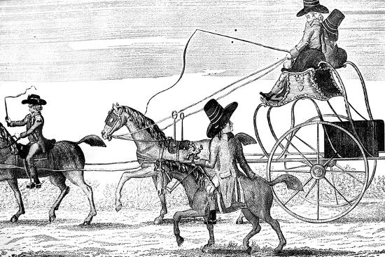 The New Gig, 1781- Colley-Giclee Print