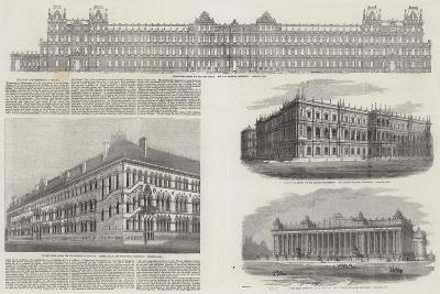 The New Government Offices--Giclee Print