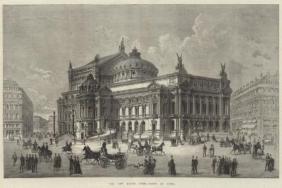 The New Grand Opera-House at Paris--Giclee Print