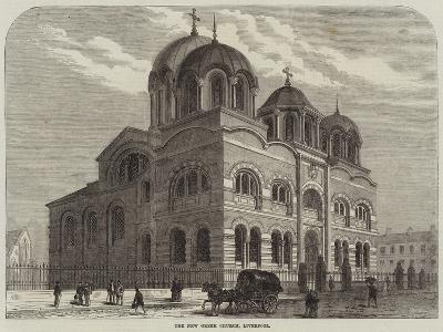 The New Greek Church, Liverpool--Giclee Print