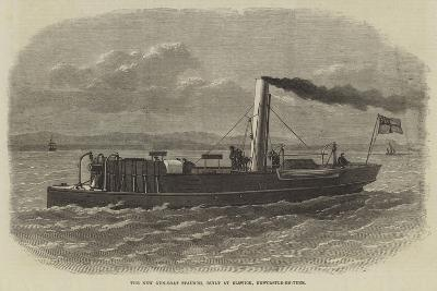 The New Gun-Boat Staunch, Built at Elswick, Newcastle-On-Tyne--Giclee Print