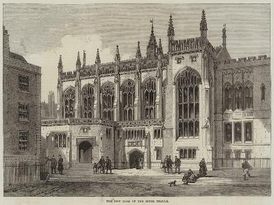 The New Hall of the Inner Temple--Giclee Print