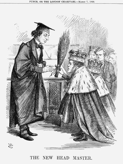 The New Head Master, 1868-John Tenniel-Giclee Print