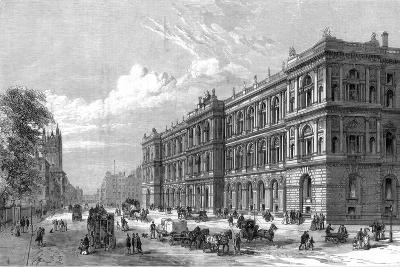 The New Home and Colonial Offices, Parliament Street, Westminster, London, 1875--Giclee Print