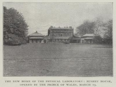 The New Home of the Physical Laboratory, Bushey House, Opened by the Prince of Wales, 19 March--Giclee Print