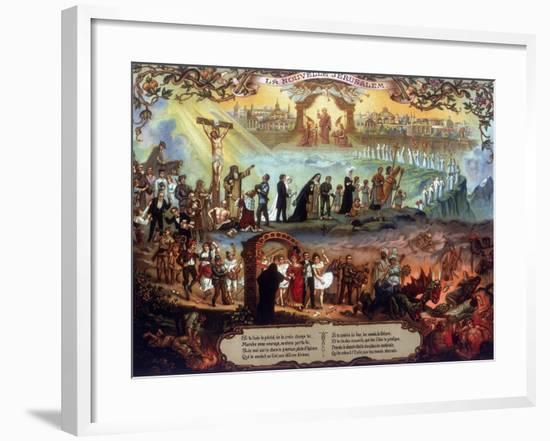 The New Jerusalem, C1900-null-Framed Premium Giclee Print