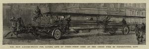 The New Ladder-Truck for Saving Life at Fires, First Used at the Great Fire in Paternoster Row