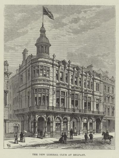 The New Liberal Club at Belfast-Frank Watkins-Giclee Print