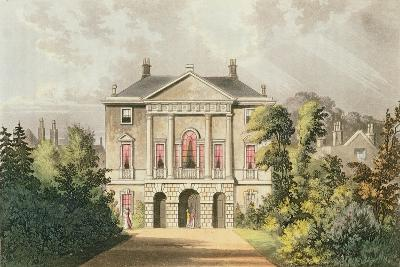 The New Lodge, Richmond Park, from Ackermann's 'Repository of Arts', Published C.1826-John Gendall-Giclee Print