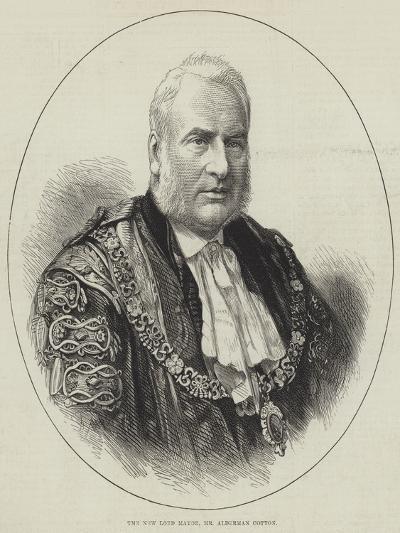The New Lord Mayor, Mr Alderman Cotton--Giclee Print