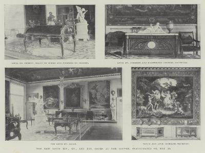 The New Louis Xiv, XV and XVI Rooms at the Louvre, Inaugurated on 20 May--Giclee Print