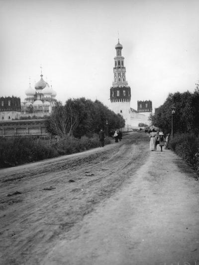 The New Maiden's (Novodevich) Convent, Moscow, Russia, 1900s--Photographic Print