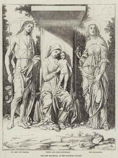 The New Mantegna, at the National Gallery-Andrea Mantegna-Giclee Print