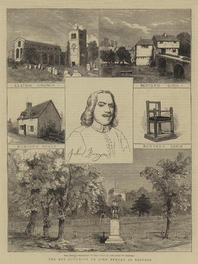 The New Monument to John Bunyan at Bedford--Giclee Print