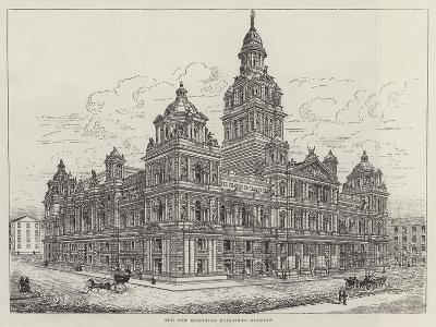 The New Municipal Buildings, Glasgow--Giclee Print