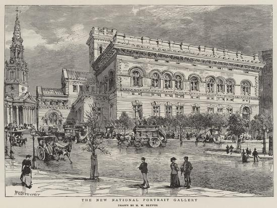 The New National Portrait Gallery-Henry William Brewer-Giclee Print