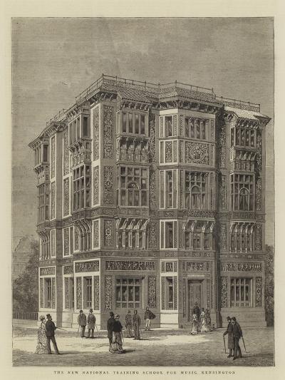 The New National Training School for Music, Kensington--Giclee Print
