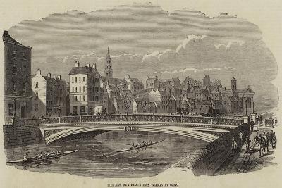 The New Northgate Iron Bridge at Cork--Giclee Print