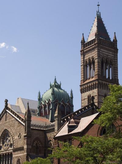 The New Old South Church, Copley Square, Back Bay, Boston, Massachusetts, USA-Amanda Hall-Photographic Print