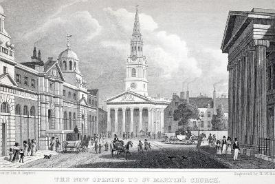 The New Opening of St Martin's Church-Thomas Hosmer Shepherd-Giclee Print
