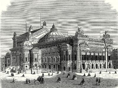 The New Opera in Paris and its Lightning Rods--Giclee Print
