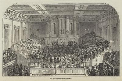 The New Orchestra, Exeter Hall--Giclee Print