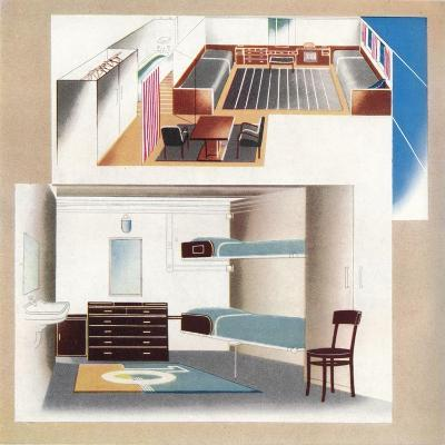 The New Orient Liner Contributes Toward a New Standard of Decoration, 1935--Giclee Print