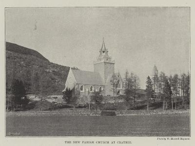 The New Parish Church at Crathie--Giclee Print
