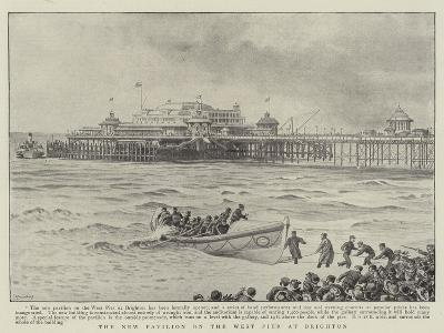 The New Pavilion on the West Pier at Brighton--Giclee Print