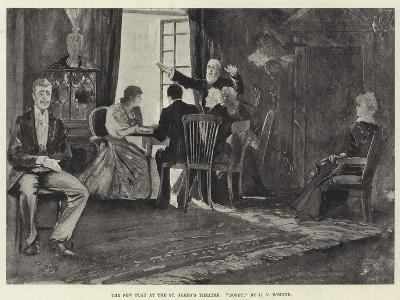 The New Play at the St James's Theatre, Bogey, by H V Esmond-Henry Charles Seppings Wright-Giclee Print