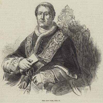 The New Pope, Pius Ix--Giclee Print