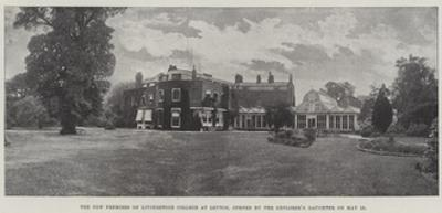 The New Premises of Livingstone College at Leyton, Opened by the Explorer's Daughter on 23 May