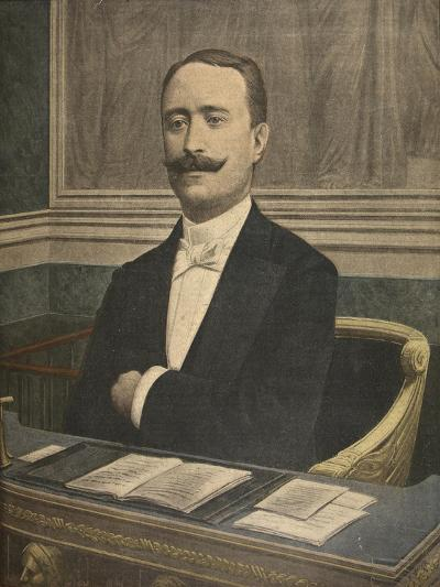 The New President of the Chambre Des Deputes: Paul Deschanel-French-Giclee Print