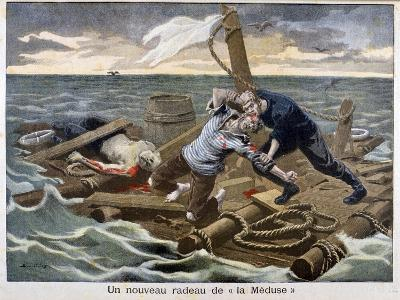 The New 'Raft of the Medusa, 1899-F Meaulle-Giclee Print