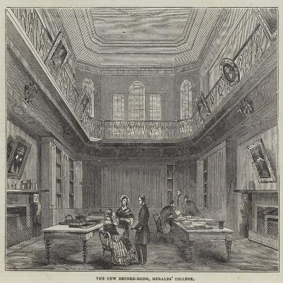 The New Record-Room, Heralds' College--Giclee Print