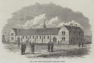 The New Rifle Volunteer Barracks, Hull--Giclee Print